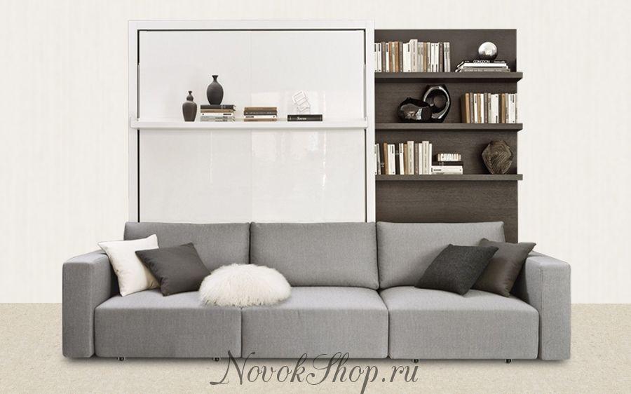 Кровать с диваном трансформер 40